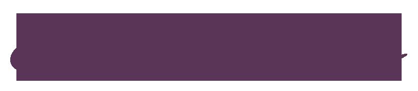 E. Bush Florists purple logo